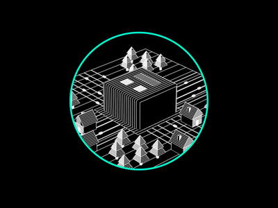 Dot Matrix Community community retro illustration