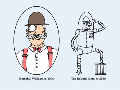 Robotic Gentleman Backstory
