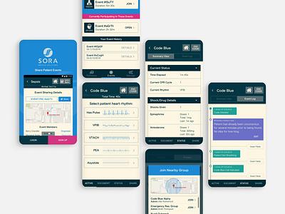 Medical Diagnosis App - Select Mobile Screens healthcare enterprise ui app mobile medical