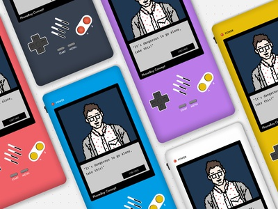 PhoneBoy New Pixel Art