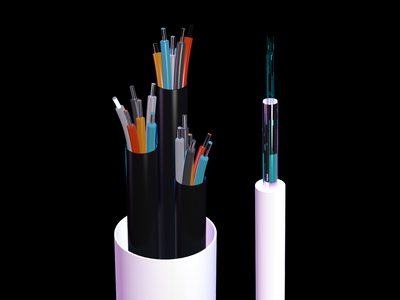 Fiber Optic Cable Rendering