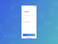 Daily UI #001: Simple Login for iOS