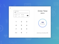 DailyUI #002: Credit Card Checkout