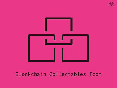 Blockchain Collectables Icon blockchain icon