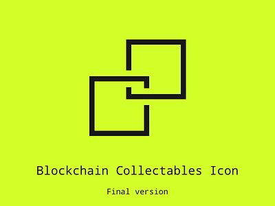 Blockchain Collectable Icon Final icon blockchain