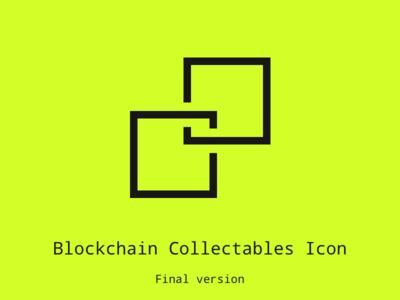 Blockchain Collectable Icon Final