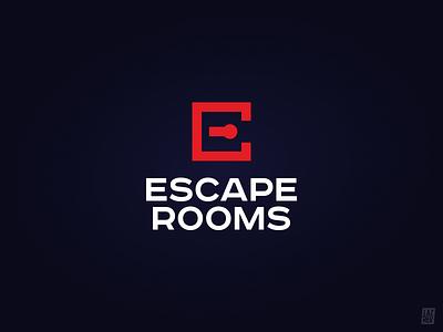 Escape Rooms michaellazarev la7rev symbol logotype logo identity design corporate brand game quest room escape