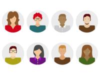 Agents user avatars