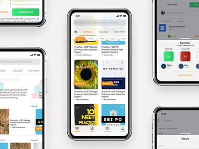 Wonderslate- iOS App design app ui ux edtech edos wonderslate design ios