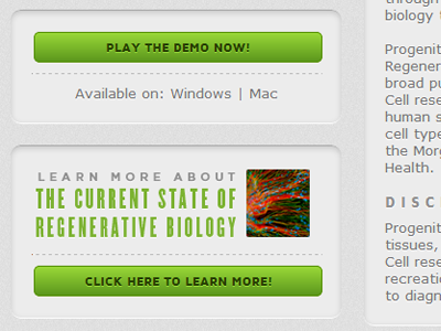 Web Interface website