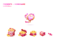 An icon design for dating games
