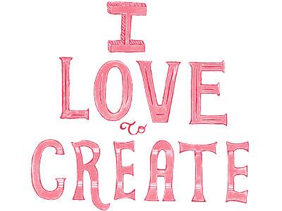 I love to create texturized