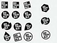 Big Trubble - Logo Explorations