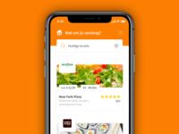 🍴Thuisbezorgd App Redesign
