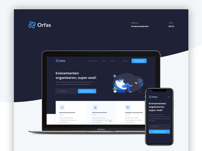 ✍️ Orfas - Design Case Study sketch design organisation events case case study web design user interface user experience
