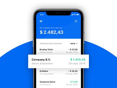 💸 Banking App (iOS) design ux ui sketch photoshop app concept app design uidesign uxdesign typography concept clean ios app ecommerce banking banking app finance finance app