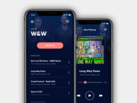 🎶 Music Player App (iOS)
