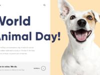 World animal day 1