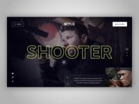 📺 Netflix Concept Page
