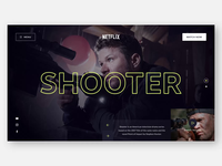 📺 Netflix Concept Page Animation