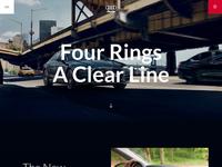 Audi car page full