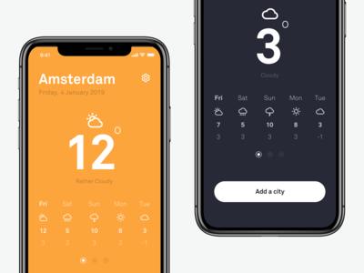 ☀️ Weather App