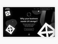 Landing page UX – animation