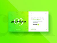 #03 Website Slider Concept