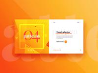 #04 Website Slider Concept