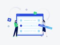 Configure Wallets Illustration