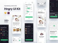 Hngry UI Kit - Food Delivery UI Kit Update