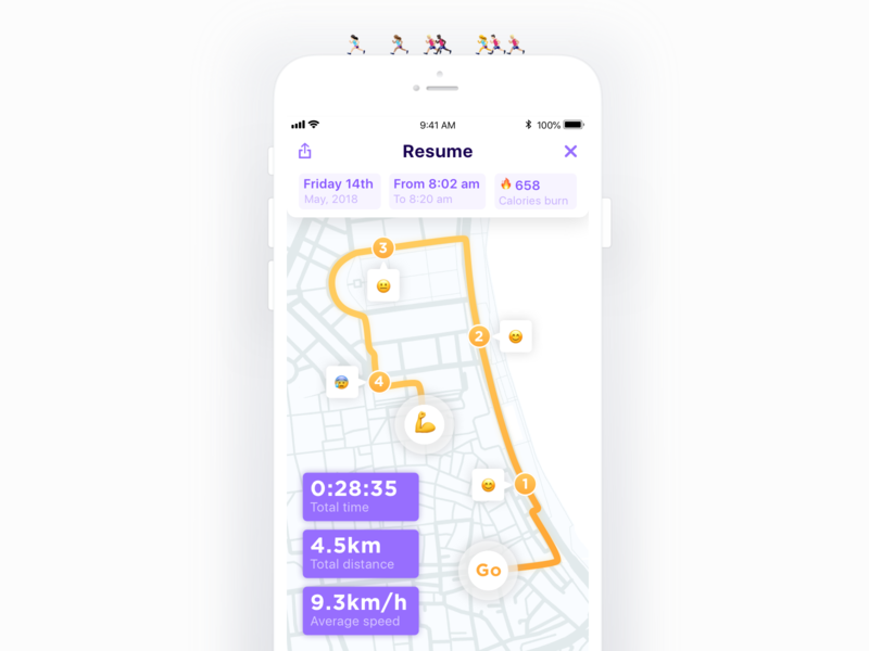 Daily UI #62 - Workout of the Day 💦