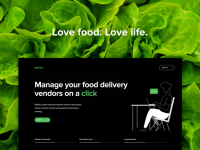 Kitchen || Hotel Vendor Management App