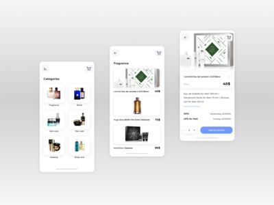 Perfume Magazine Mobile App