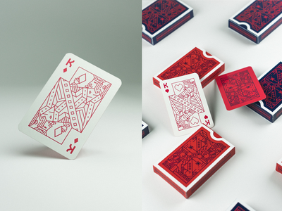 Playing cards — Geometric canasta 🃏 package design geometric cards playingcards canasta illustration mockup personal project print crafts