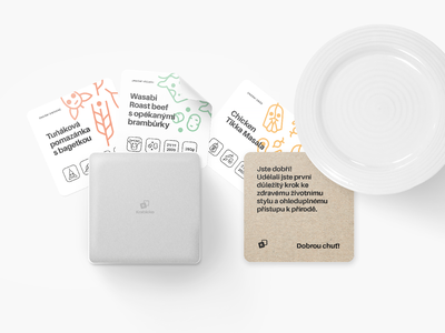 Krabicko — Meal container 📦 logo logotype design idea box packaging delivery app delivery service project branding brand mockup ui identity corporate mark icon symbol