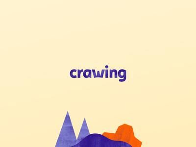 Crawing — Visual Identity 🏕️ raw print mockup poster packaging product design bar snack hiking hike design idea brand visual identity corporate icon texture logotype logo