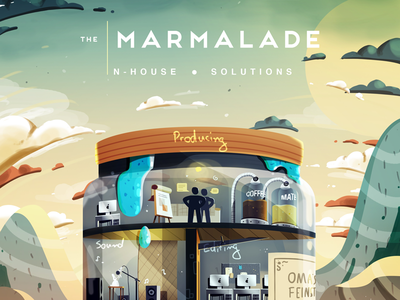 The Marmalade - Part 2 gift photoshop illustration solutions inhouse post marmalade the
