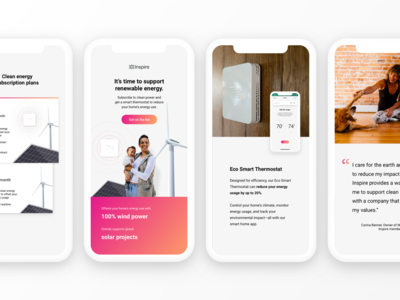 Landing Page: Mobile