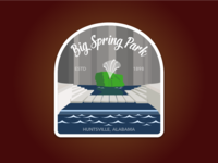 Big Spring Park Sticker