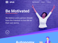 New Spur Homepage