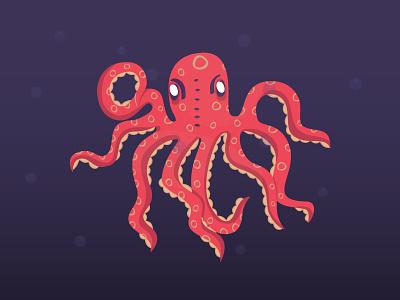 Octopus desiginspiration tentacles oceano sea wildlife marine octopus design illustration
