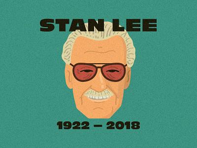 Stan Lee fanart design illustration marvelcomics marvel stan lee ripstanlee