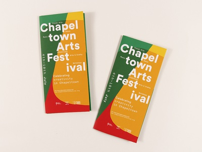 Chapeltown Arts Festival 2016 Leaflet leeds editorial leaflet typography promotional print music illustration design culture bold art