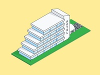 Isometric Hotel Illustration