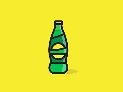 Soda soda lemon illustration design adobe art work minimal artwork daily