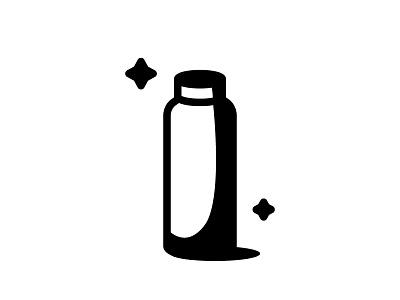 Bottle minimal graphic bottle design daily white black artwork work art illustration