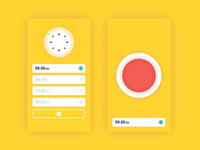 Alarm design graphic alarm art work minimal dailyuı artwork daily