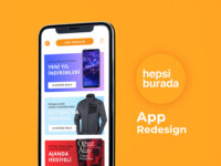 Hepsiburada App Redesign