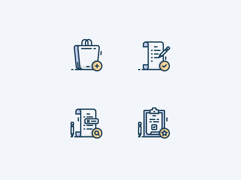 Spot icons for grafiking